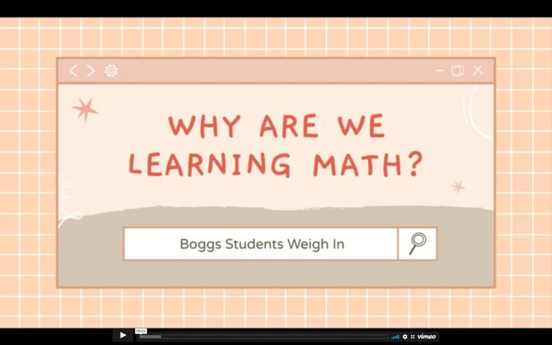 Why Learn Mathematics?