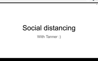How do I enjoy friends safely when social distancing?