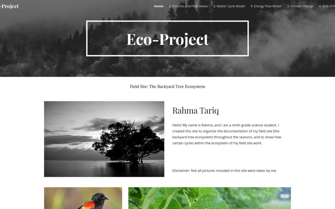 Rahma's Eco-Project
