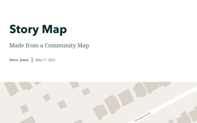 Community Mapping with GIS